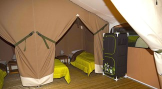 Luxuscamping - Canet-en-Roussillon - Lodgezelt auf Camping Ma Prairie