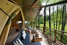 "Luxuscamping - Art der Unterkunft: Lodgezelt - Tiroler Unterland - Safari-Lodge-Zelt ""Zebra"" am Nature Resort Natterer See"