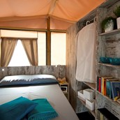 Luxuscamping: Schlafzimmer - Glamping auf Zaton Holiday Resort