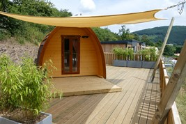 Luxuscamping - Swimmingpool - Ardennes - Parcs Naturels - Mega Pod