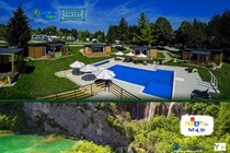 Luxuscamping: Bungalows auf Plitvice Holiday Resort