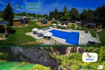 Glampingunterkunft: Bungalows auf Plitvice Holiday Resort