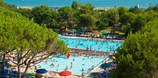 Luxuscamping - Swimmingpool - Bibione Pineda - Wohnwagen von Gebetsroither am Camping Residence il Tridente