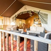 Luxuscamping: Smile Lodge Wood auf Baia Domizia Villaggio Camping - Smile Lodge Wood auf Baia Domizia Villaggio Camping