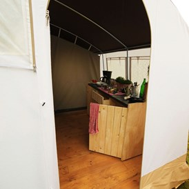 Glampingunterkunft: Smile Panorama Lodge am Camping Ca'Savio