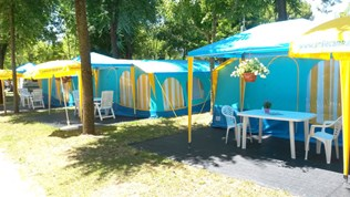 Luxuscamping - Swimmingpool - Cavallino-Treporti - Smile Panoramazelt am Camping Sant'Angelo
