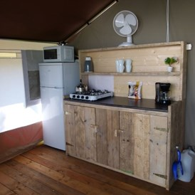 Glampingunterkunft: Smile Safari Wood am Camping Capalonga