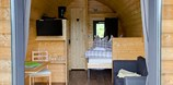Luxuscamping - Restaurant - Hessen Süd - Campingpod auf Camping Odersbach