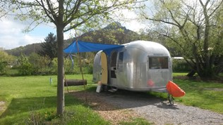 Luxuscamping - Swimmingpool - Schwaben - Airstream Hotel am Bodensee