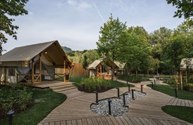 Luxuscamping - WC - Slowenien - Glamping-Zelt S auf Glamping Olimia Adria Village