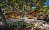 Luxuscamping - Strand - Kroatien - Glamping-Zelte auf Camping Baldarin