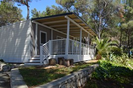 Luxuscamping - Swimmingpool - Cres - Lošinj - Luxusmobilheim von Gebetsroither am Camping Cikat