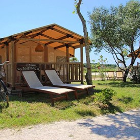 Glampingunterkunft: Sunlodge Jungle Zelt - SunLodge Jungle von Suncamp auf Camping Village Cavallino