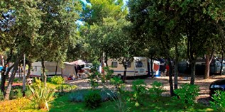 Luxuscamping - Dalmatien - SunLodge Redwood von Suncamp auf Solaris Camping Beach Resort