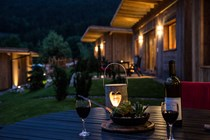 Luxuscamping: DOLOMITEN LODGE auf Camping Seiser Alm