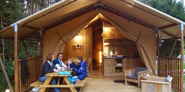 Luxuscamping - Franken - Safarizelt am Waldcamping Brombach
