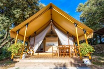 Luxuscamping: Glamping Zelte M am Camping Straško - Glamping Zelte M am Camping Straško