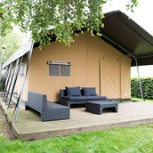 Luxuscamping: Campingzelte auf Camping Klein Strand