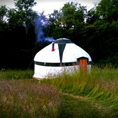 Luxuscamping: Stavehøl Secret Camping