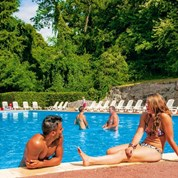 Luxuscamping - Swimmingpool - Yvelines - Lodge 6 Personen 2 Schlafzimmer von Canvas auf Camping Parc des Roches