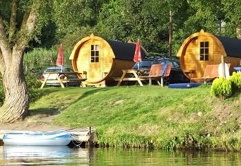 Schlaffass / Campingfass / Weinfass in Traben-Trarbach an der Mosel ...