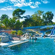 Luxuscamping - Swimmingpool - Charente-Maritime - Mobilheim Cosy 5 Personen 2 Schlafzimmer von Canvas auf Camping Palace
