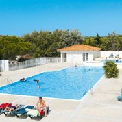 Luxuscamping - Canet en Roussillon - Mobilheim Relax Plus 5 Personen 2 Schlafzimmer von Canvas auf Camping Fontaines