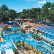 Luxuscamping - Swimmingpool - Charente-Maritime - Mobilheim Cosy 5 Personen 2 Schlafzimmer von Canvas auf Camping Palmyre Loisirs