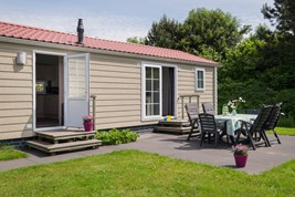 Luxuscamping - W-Lan - Hellevoetsluis - Chalets auf Camping 't Weergors