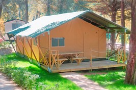 Luxuscamping - W-Lan - Lucca - Pisa - Glamping Zelt Lodge Charme auf Camping Le Pianacce