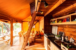 Luxuscamping - W-Lan - Lucca - Pisa - Lodgezelt XXL auf Camping Le Pianacce