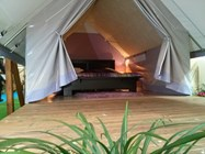 Luxuscamping: innere - glamping Zelt Glam auf Camping Le Pianacce