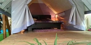 Luxuscamping - W-Lan - Toskana - glamping Zelt Glam auf Camping Le Pianacce