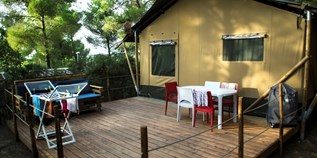 Luxuscamping - Swimmingpool - Lucca - Pisa - Lodgezelt Glamour auf Camping Le Pianacce
