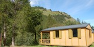 Luxuscamping - Wallis - Chalets auf Camping Molignon