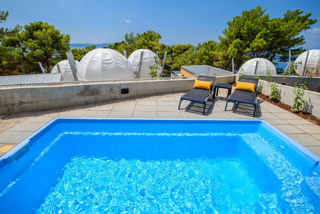 Glampingunterkunft: Deluxe Mobile Home 6 + 2 Schwimmbad - Medora Orbis Camping & Glamping 4*