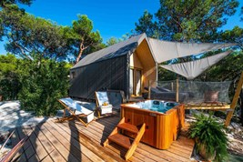 Luxuscamping - Badewanne - Istrien - Arena One 99 Glamping