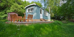 Luxuscamping - Brandenburg - Tiny House am See - Naturcampingpark Rehberge