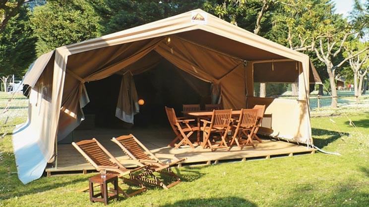 Safarizelt für 5 Personen von Eurocamp am Camping L ...