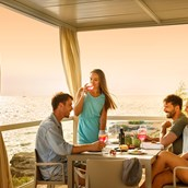 Luxuscamping: Amber Sea Luxury auf dem Aminess Maravea Camping Resort