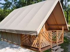 Luxuscamping - Funtana - Glampingzimmer auf dem Campingplatz Park Polidor