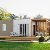 Luxuscamping: Camping Family Home Plus auf dem Falkensteiner Premium Camping Zadar