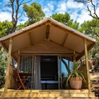 Luxuscamping: Mini Lodge auf dem Arena One 99 Glamping