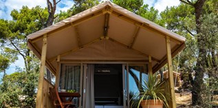 Luxuscamping - Pula - Mini Lodge auf dem Arena One 99 Glamping