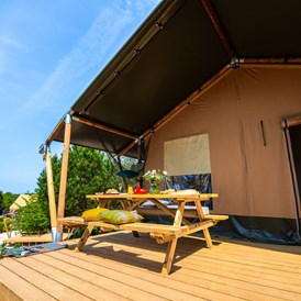 Glampingunterkunft: Two bedroom tent auf dem Arena One 99 Glamping