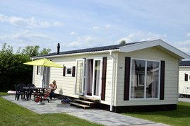 Luxuscamping - W-Lan - Doesburg - 4 Personen Chalets auf Camping IJsselstrand