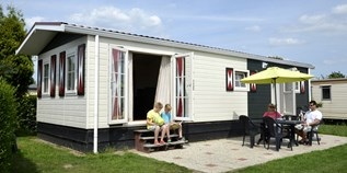 Luxuscamping - Swimmingpool - Veluwe - Chalets 6 P auf Camping Ijsselstrand