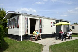 Luxuscamping - Swimmingpool - Achterhoek - Chalets 6 P auf Camping Ijsselstrand