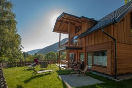 Luxuscamping - Ossiachersee - Ferienhaus Deluxe am Seecamping Berghof