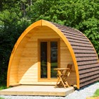 Luxuscamping: Trekking-POD auf Camp Langholz